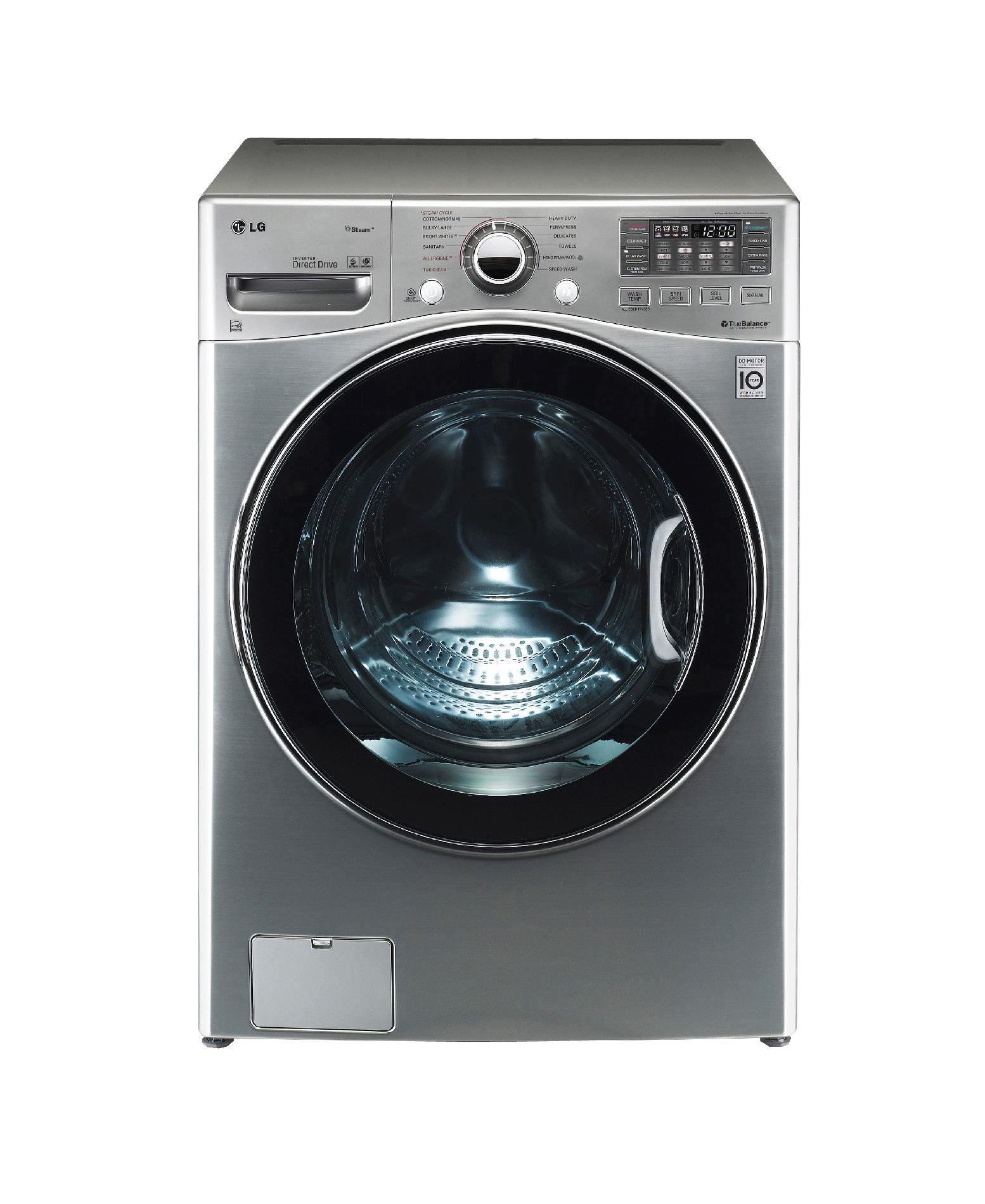 4.0 cu. ft. Ultra Large Capacity Steam Front Load Washer w/