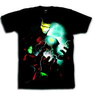 Marvel Men's Graphic Tee Iron Man Glow Short Sleeve Black at Kmart.com
