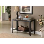 Monarch Specialties Cappuccino / Marble Top Sofa Console Table at Sears.com