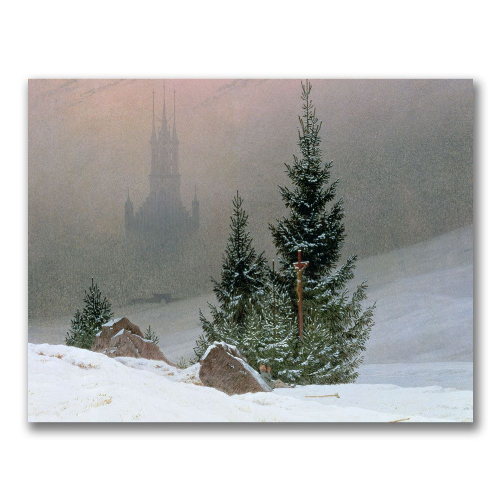 Trademark Art 18x24 inches Caspar Friedrich
