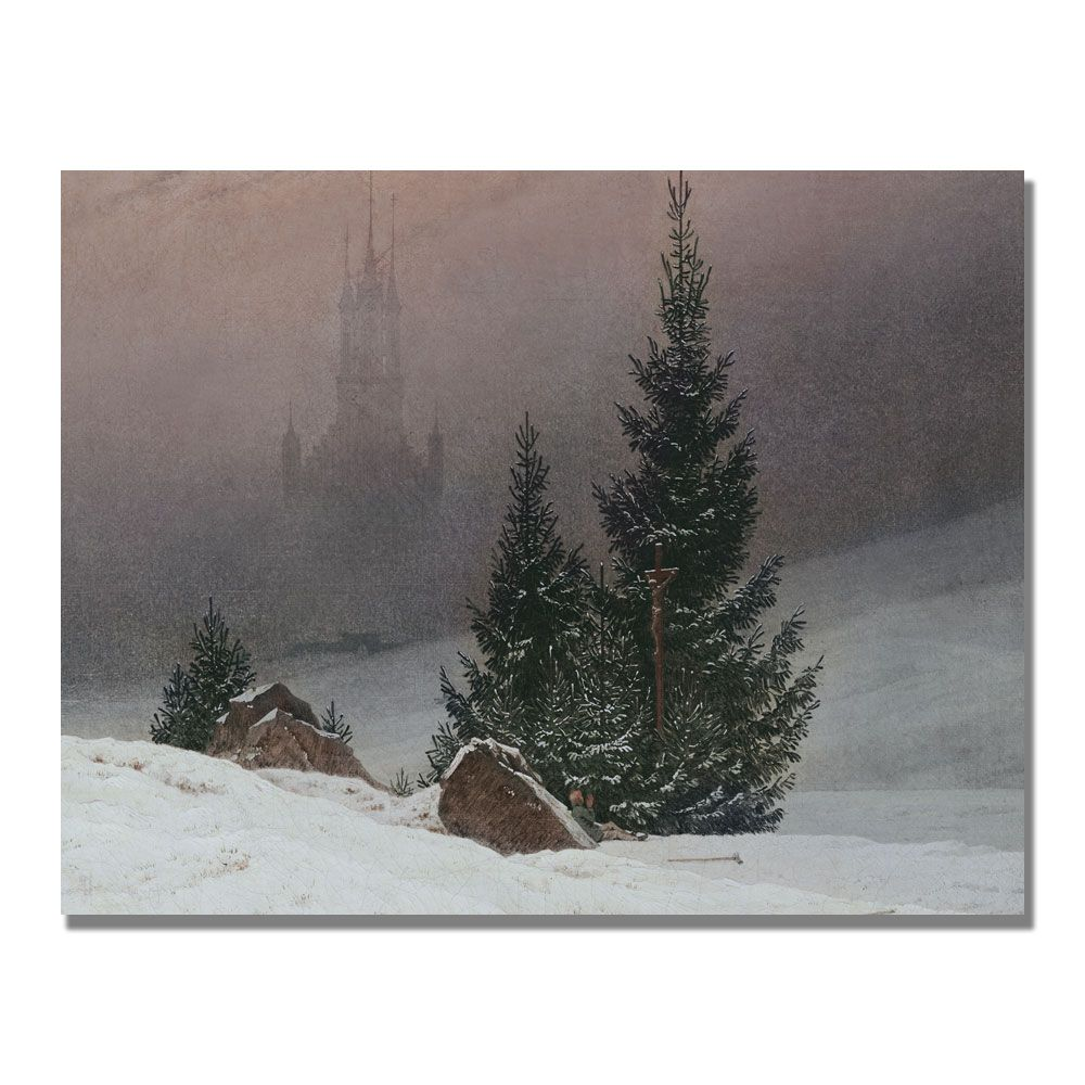 Trademark Art 35x47 inches Caspar Friedrich