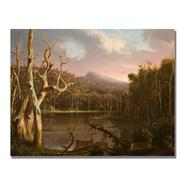 """Trademark Fine Art 35x47 inches Thomas Cole """"Lake With Dead Trees"""" at Kmart.com"""