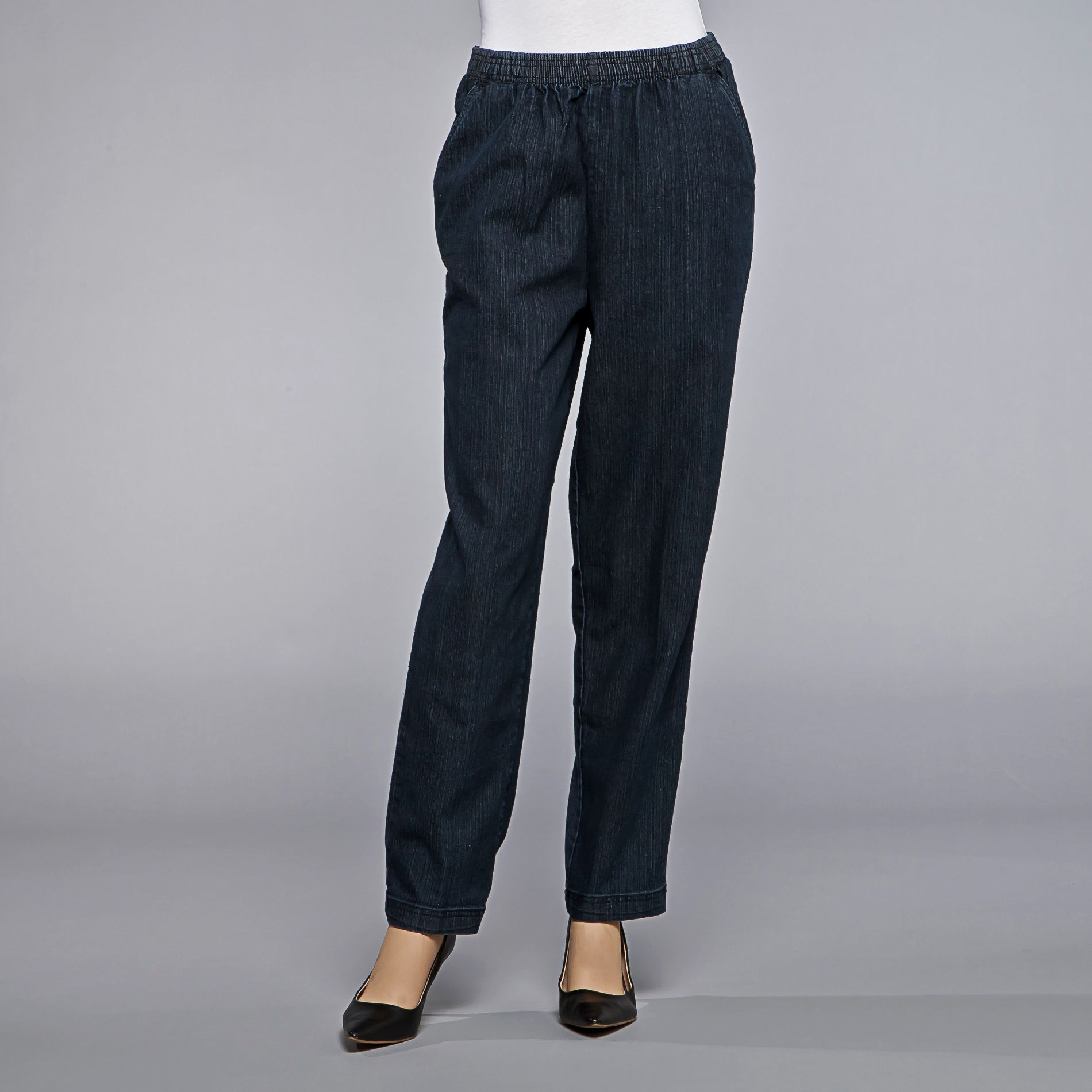 Laura Scott Women's Elastic-Waist Jeans at Sears.com