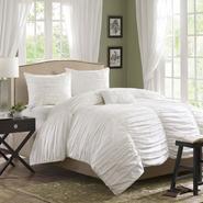 Madison Classics Catalina White Queen 4pcs Comforter set at Kmart.com