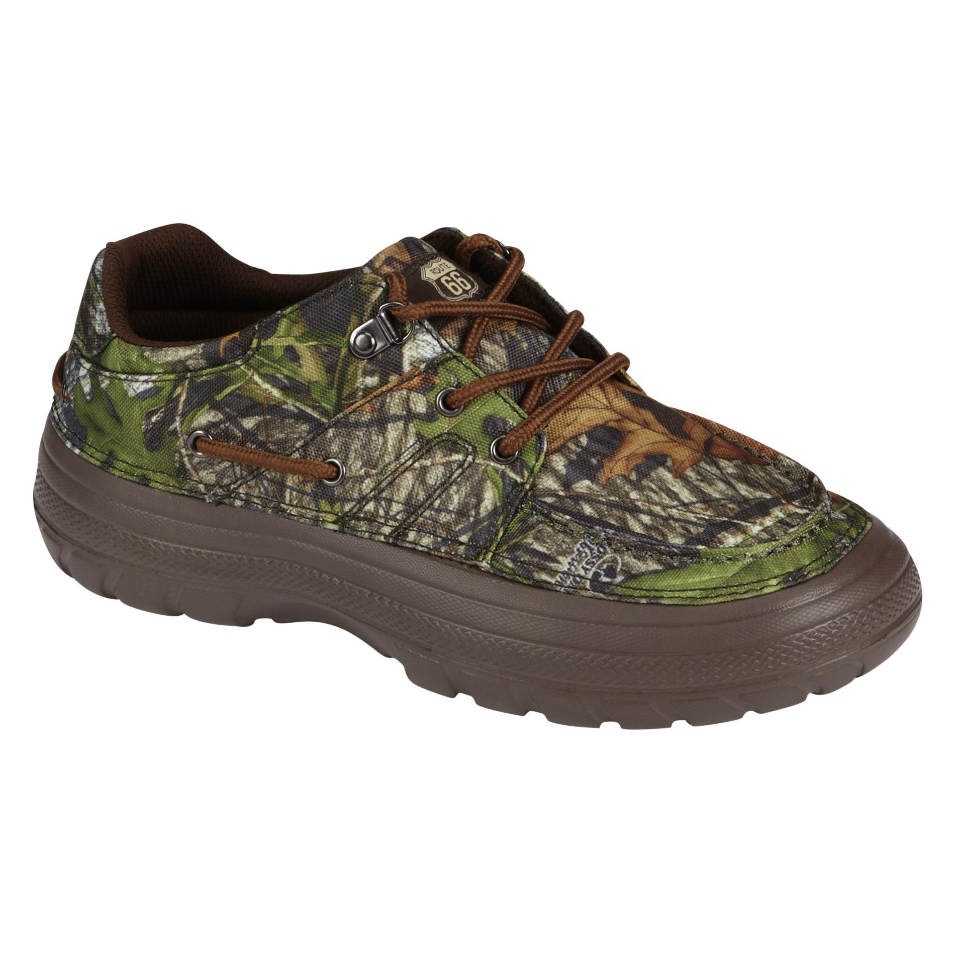 Men's James Canvas Boat Shoe - Camo