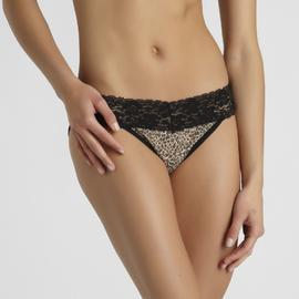 Metaphor Women's Leopard Lace Bikini Panty at Kmart.com
