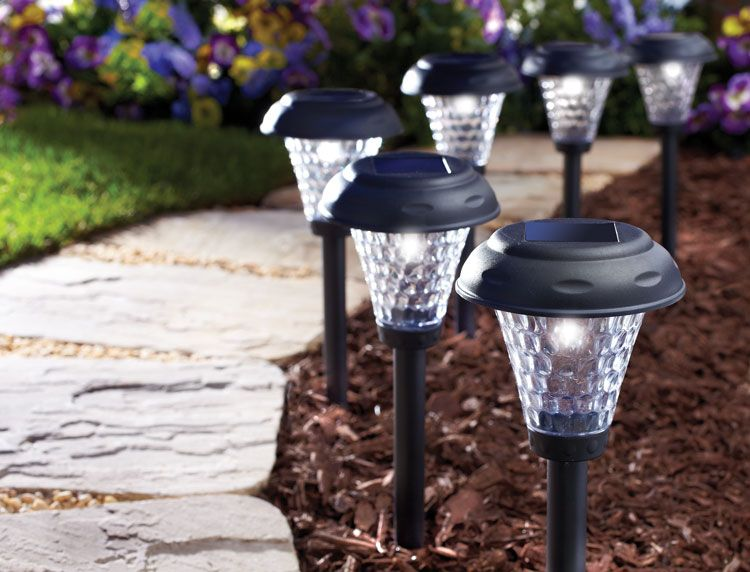 PAYTON SOLAR PLASTIC PATH LIGHT 8 PACK                                                                                           at mygofer.com