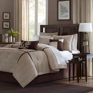 Madison Classics Lancaster Beige Full  7 Piece Comforter  Set at Kmart.com