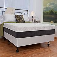 "Night Therapy 12"" NuRest® Better Than Latex™ Mattress & Bi-Fold® Box Spring Set - Queen at Sears.com"