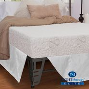 "Night Therapy 8"" NuRest® Better Than Latex™ Mattress & Bed Frame Set - Queen at Sears.com"