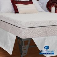 "Night Therapy 10"" NuRest® Better Than Latex™ Mattress & Bed Frame Set - Twin at Kmart.com"