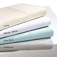 Sleep Philosophy 300TC Liquid Cotton Queen Sea Blue Sheet Set at Kmart.com