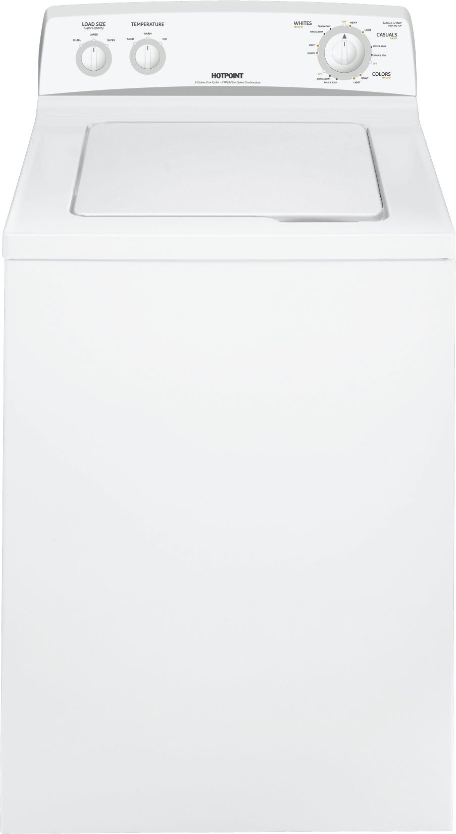 3.5 cu. ft. Top Load Washer - White