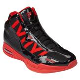 Protege Men's Seven Athletic Shoe - Black/Red at mygofer.com