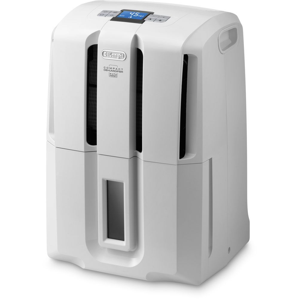 DeLONGHI DDSE30 Energy Star 30-Pint Portable Dehumidifier