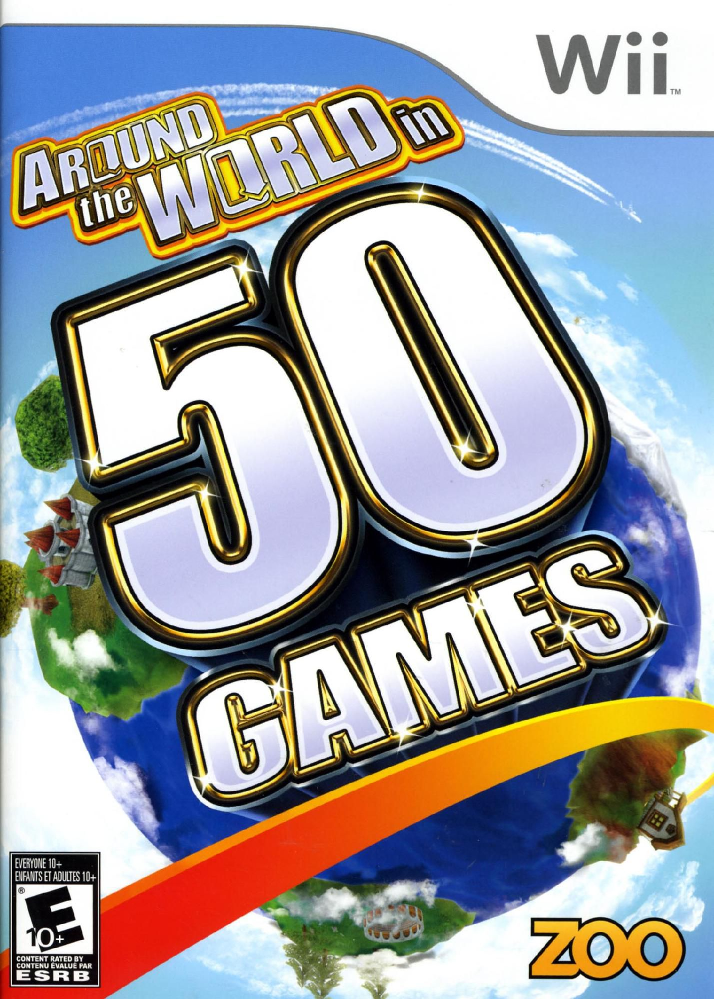 AROUND THE WORLD 50 GAMES WII