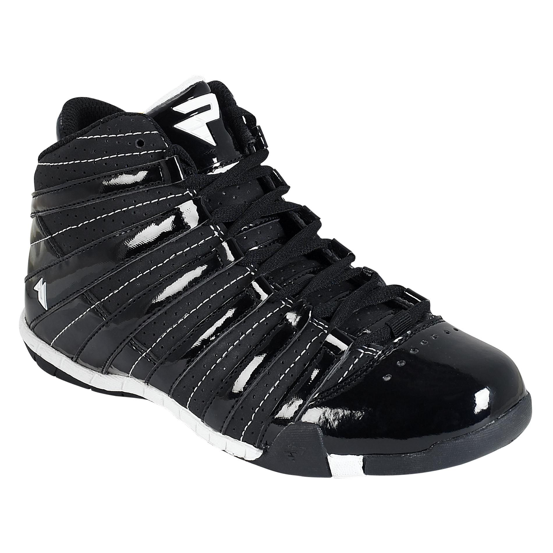 Boy's Five Basketball Shoe - Black