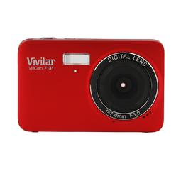 Vivitar ViviCam F131 14.1MP Digital Camera- Red at Kmart.com