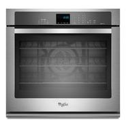 "Whirlpool 27"" Electric Wall Oven w/ TimeSavor™ Ultra True Convection - Stainless Steel at Sears.com"