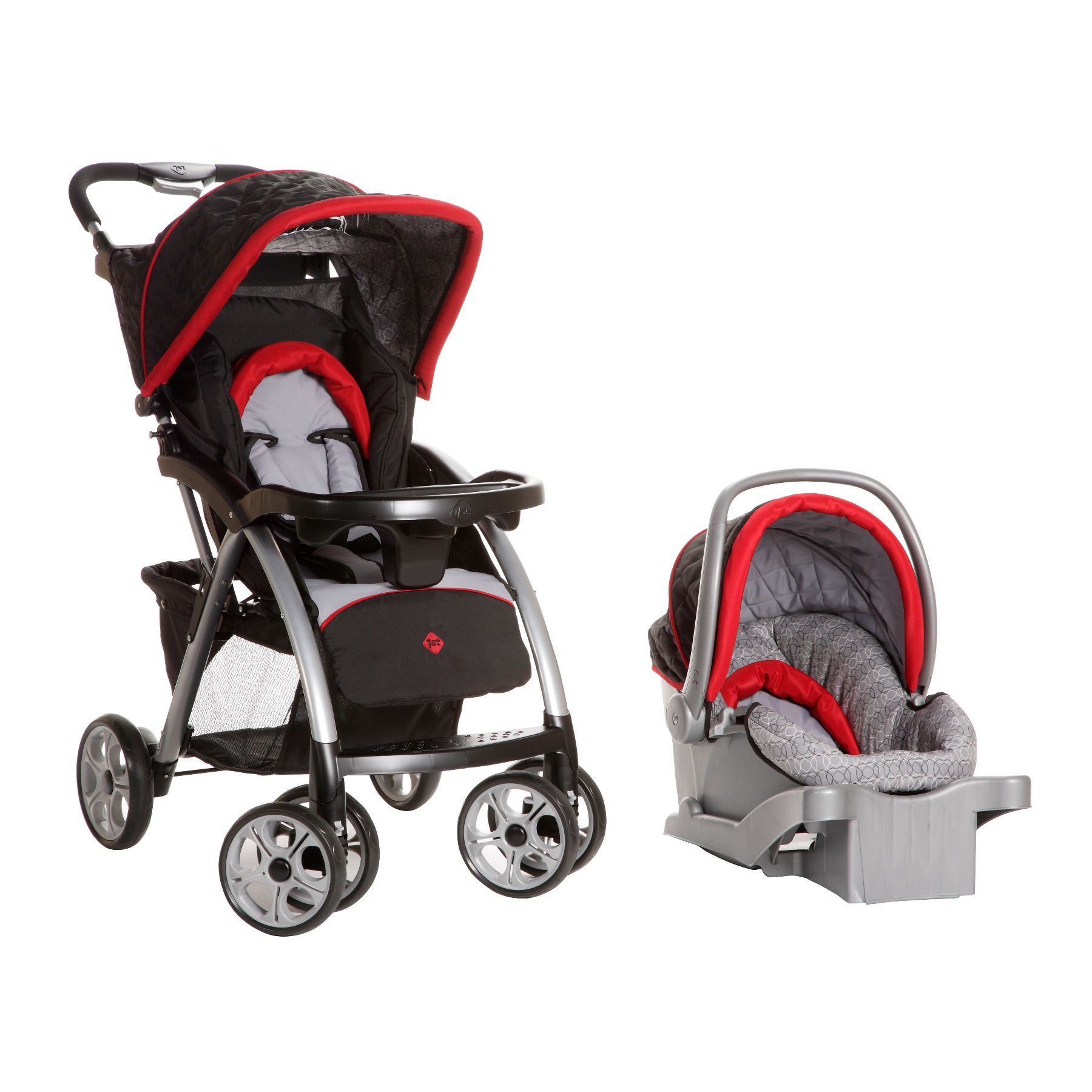 Saunter Luxe Travel System - Rosehill