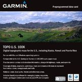Garmin 010-C1042-00 TOPO U.S. 100K MicroSD Card with SD Adapter at mygofer.com