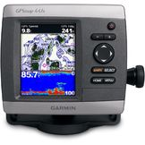 Garmin GPSMAP441SW/OTRANSDUC Chartplotter w/ U.S. Coastal Maps & Built-In Sounder at mygofer.com