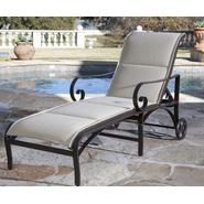 Woodard Wingate Padded Sling Chaise Lounge at Kmart.com
