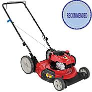 Craftsman 140cc* Briggs & Stratton Engine, High Wheel Side Discharge Push Mower 50 States at Craftsman.com