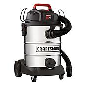 Craftsman 8 Gallon Stainless Steel Tank, 4 Peak HP Wet/Dry Vac at Craftsman.com
