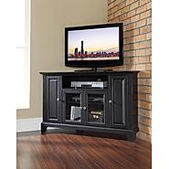 Crosley Furniture Newport 48in Corner TV Stand in Black at Kmart.com