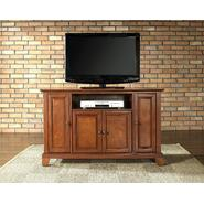 Crosley Furniture Newport 48in TV Stand in Classic Cherry at Kmart.com