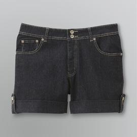 Angels Women's Plus Hipster Cuffed Denim Shorts at Kmart.com