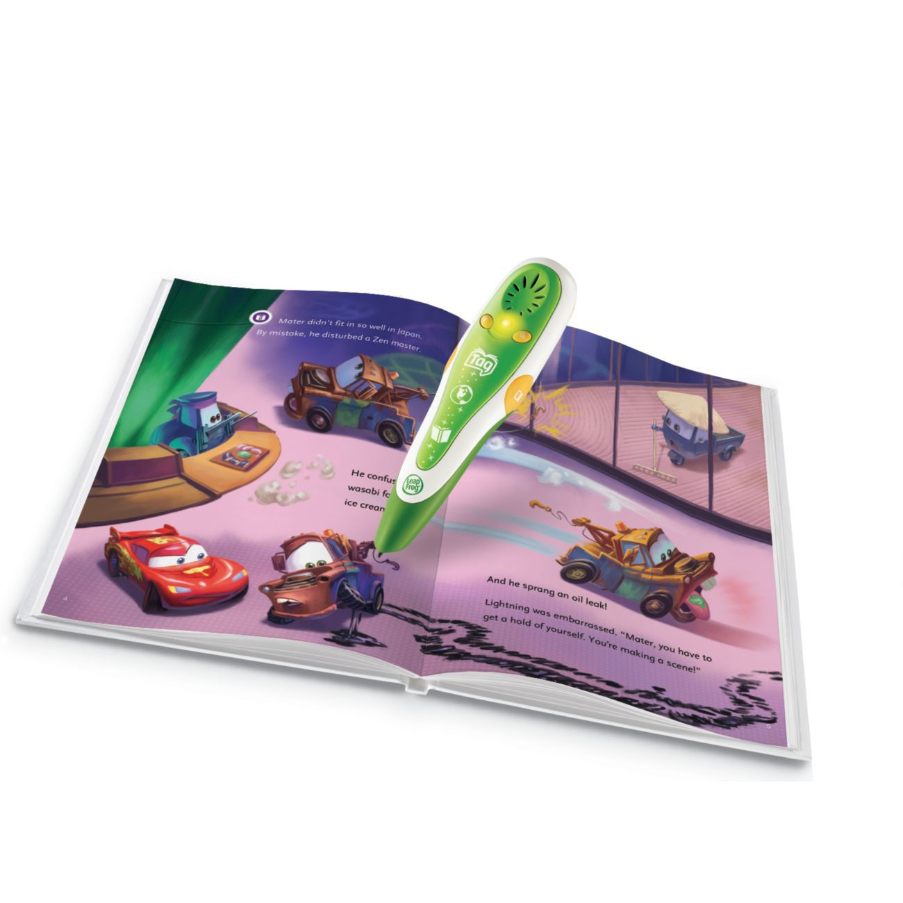 ® Tag™ Activity Storybook: Disney•Pixar Cars 2: Project Undercover                                              at mygofer.com