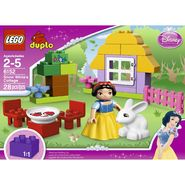 LEGO DUPLO®  Disney Princess™ Snow White's Cottage 6152 at Kmart.com
