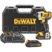 DeWalt 20 V MAX* Lithium Ion 1/4 In. Impact Driver Kit (1.5Ah) at Sears.com
