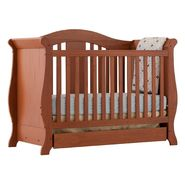 Stork Craft Vittoria 3 in 1 Fixed Side Convertible Crib - Oak at Kmart.com