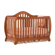Stork Craft Monza I Fixed Side Convertible Crib - Oak at Kmart.com