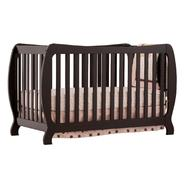 Stork Craft Monza II Fixed Side Convertible Crib  - Black at Kmart.com