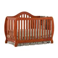Stork Craft Monza I Fixed Side Convertible Crib - Cognac at Kmart.com