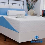 "Night Therapy 12"" MyGel® Ultimate Memory Foam Mattress  - Queen at Sears.com"