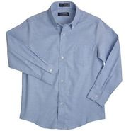 @ School by French Toast (Young Men) Long Sleeve Oxford Shirt at Kmart.com
