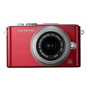 Olympus E-PL3 - Red at Kmart.com