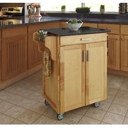 Home Styles Create-A-Cart Cuisine Cart - Natural Finish with Black Granite Top at Kmart.com