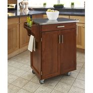 Home Styles Create-A-Cart Cuisine Cart - Cottage Oak Finish with Stainless Steel Top at Kmart.com