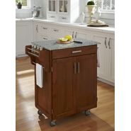 Home Styles Create-A-Cart Cuisine Cart - Cottage Oak with Salt & Pepper Granite Top at Kmart.com