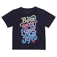 Levi's Toddler Boy's 'Good Jeans' T-Shirt Short Sleeve Navy at Sears.com