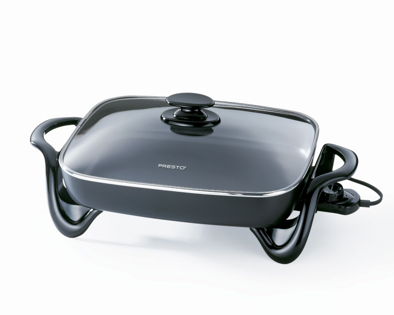 Presto 16 Electric Skillet with Glass Lid
