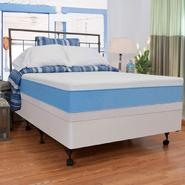 "Night Therapy 13"" MyGel® Prestige Memory Foam Mattress & Bi-Fold® Box Spring Set-Queen at Kmart.com"