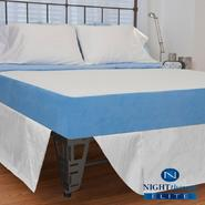 "Night Therapy 8"" MyGel® Memory Foam Mattress & Bed Frame Set-King at Kmart.com"