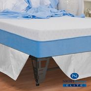"Night Therapy 10"" MyGel® Memory Foam Mattress & Bed Frame Set-Queen at Sears.com"